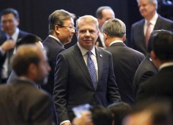 Seattle Mayor Ed Murray attends a dinner reception for Chinese President Xi Jinping in Seattle, Washington September 22, 2015. REUTERS/Jason Redmond