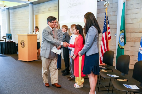 City of Seattle - Special Naturalization Ceremony 2016.