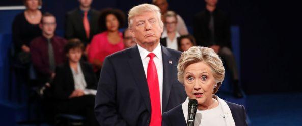 美国总统大选候选人第二次辩论录音