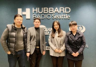 20190131 西雅图中文电台专访CENUW合影留念