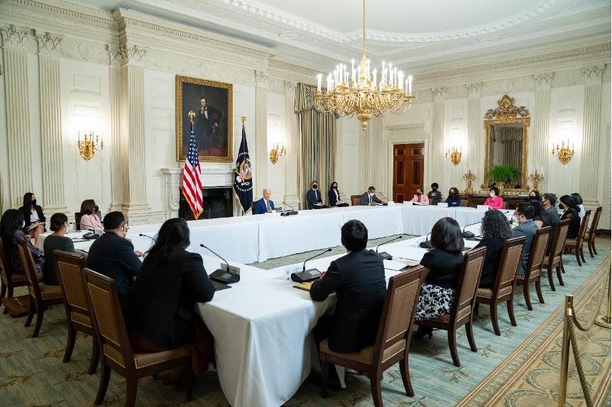 Picture with Presdient Biden